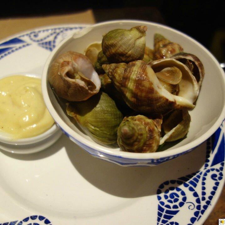 Bulots, mayonnaise maison (1)