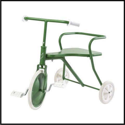 smallable tricycle metal 2 vert