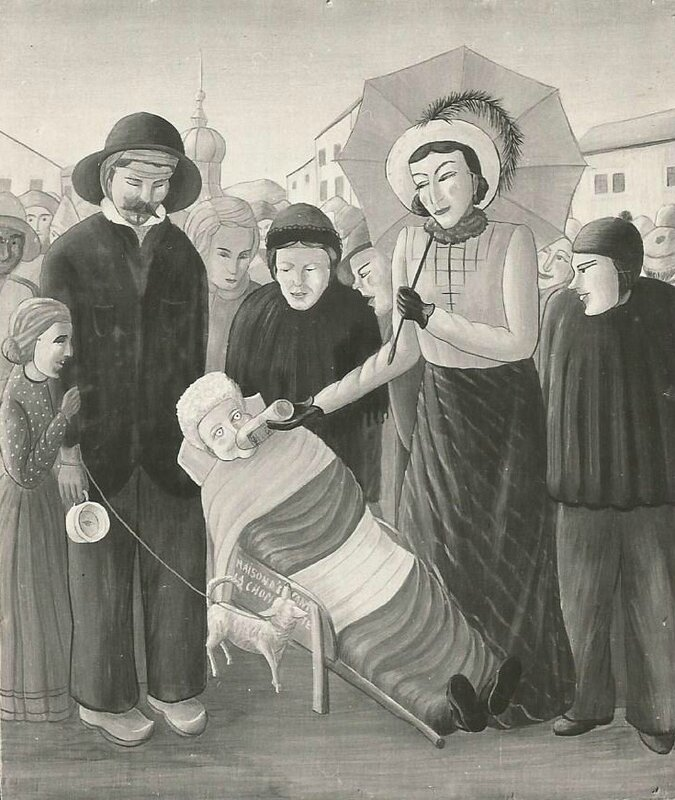 Une source d'inspiration majeure : le carnaval au village de Taninges.