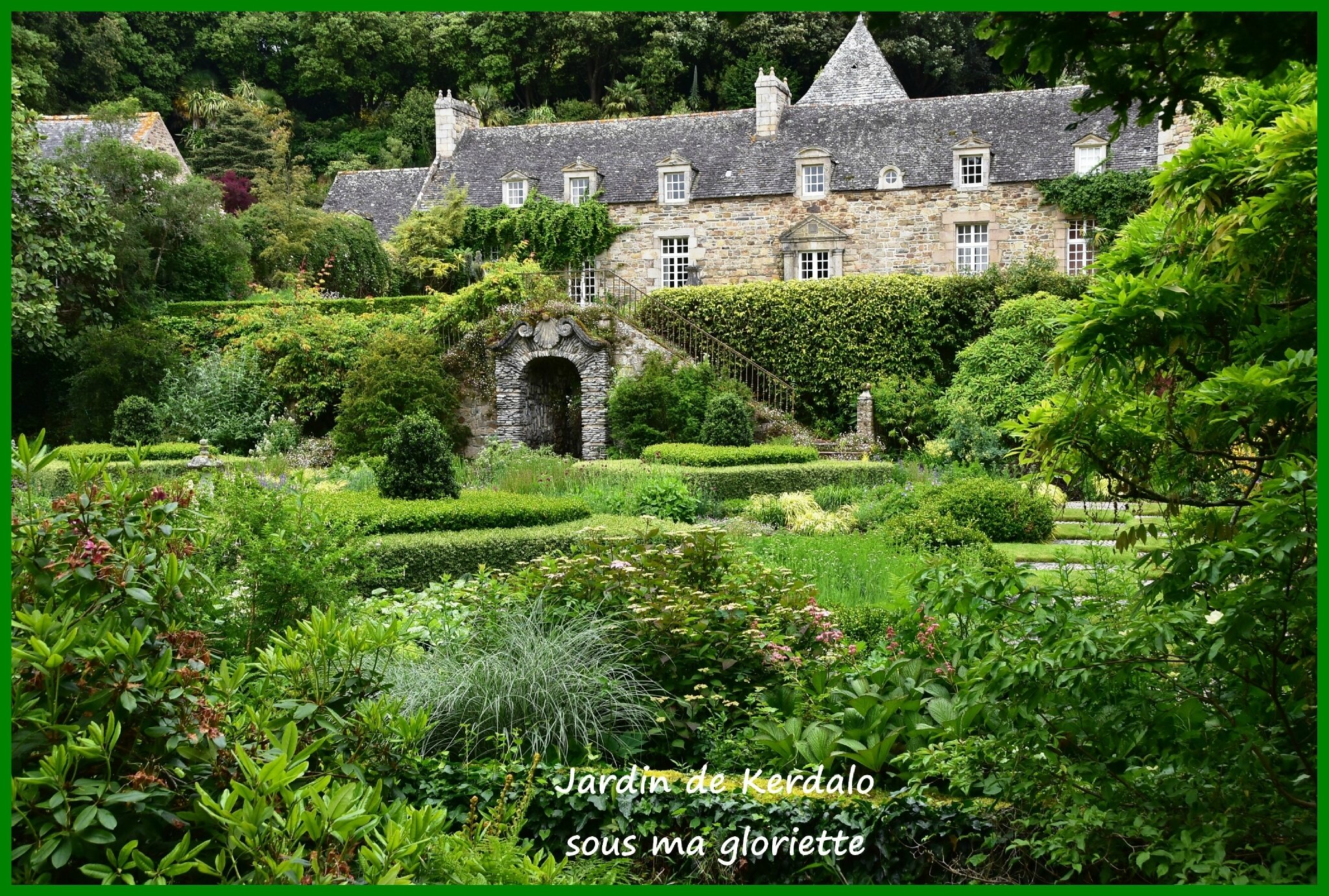Les Jardins De Kerdalo A 22 Tredarzec Sous Ma Gloriette
