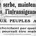 1914-07-27 la réponse Serbe