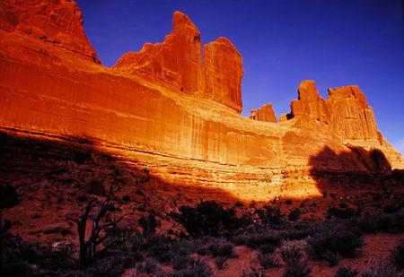 Utah_Arches_NP_Park_Avenue