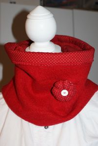 Oh Babelou snood rouge 004