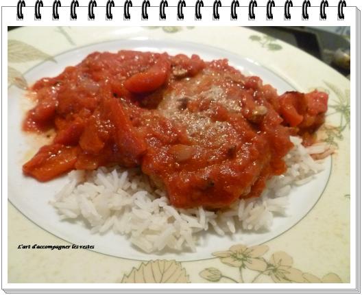 Riz camarguais et sa viande hachée épicée (ww) 2