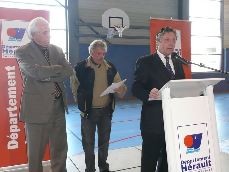 Inauguration halle aux sports 036