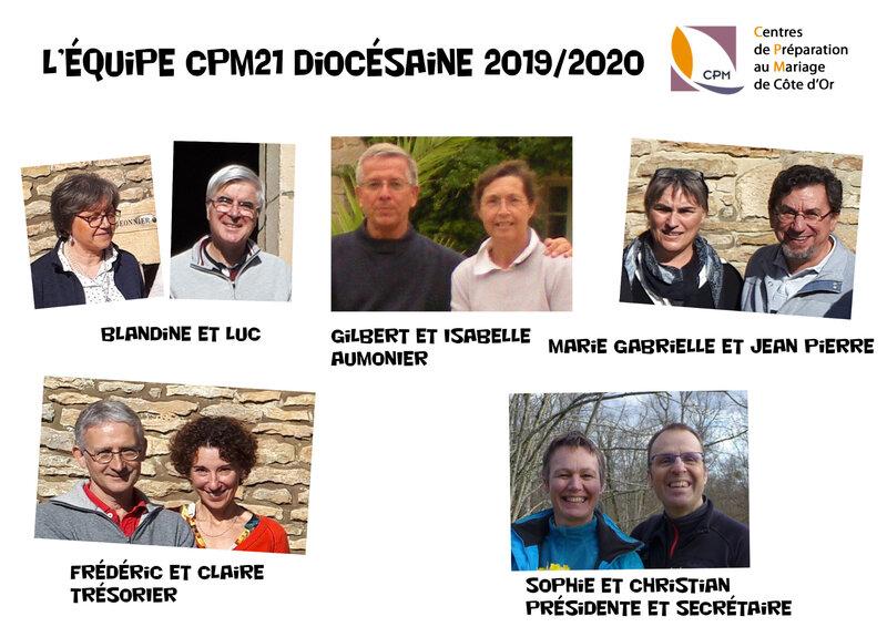 équipe diocésaine 2020