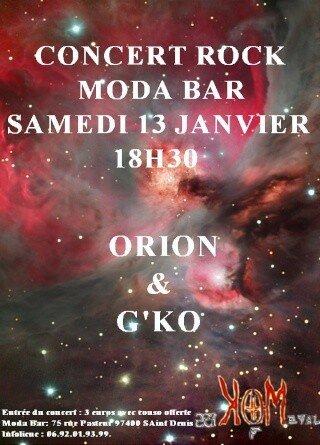 affiche concert 13 janvier