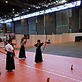 Espace arts martiaux - démo de Kyudo (tir à l'arc)