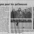 On en parle dans la presse : les résultats de la compétition de lyon