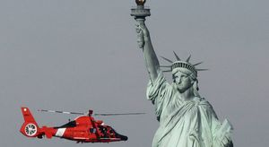 homeland security and lady liberty