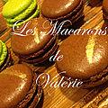 Les macarons de valérie