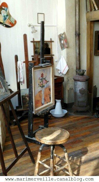 Atelier - Appartement Suzanne Valadon 11 - Montmartre- Marimerveille