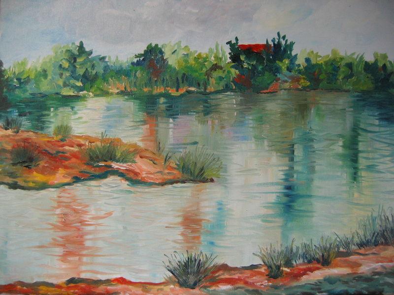 L'étang des jardins