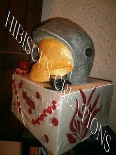 urne casque pompier