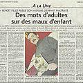Article du Bulletin du 23 03 2010
