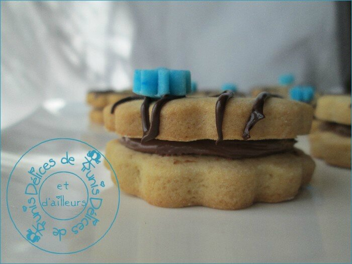 biscuits fourrés au Nutella 3