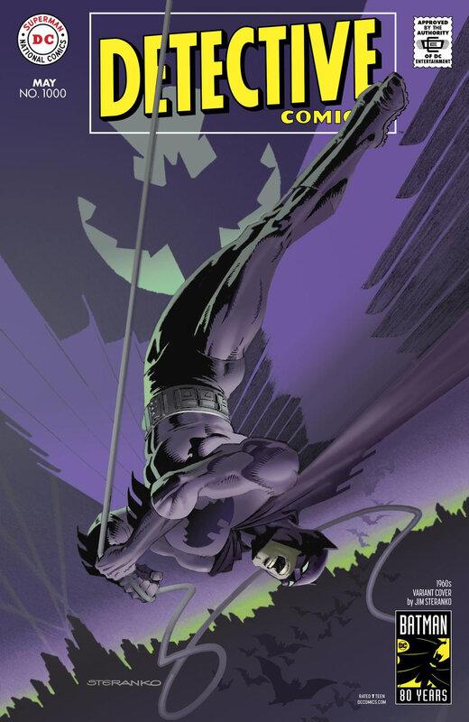 rebirth detective comics 1000 1960 jim steranko