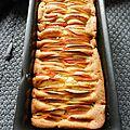 Cake aux pommes § à la vanille