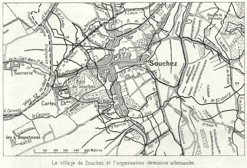 Souchez, L'Illustration, 23 octobre 1915