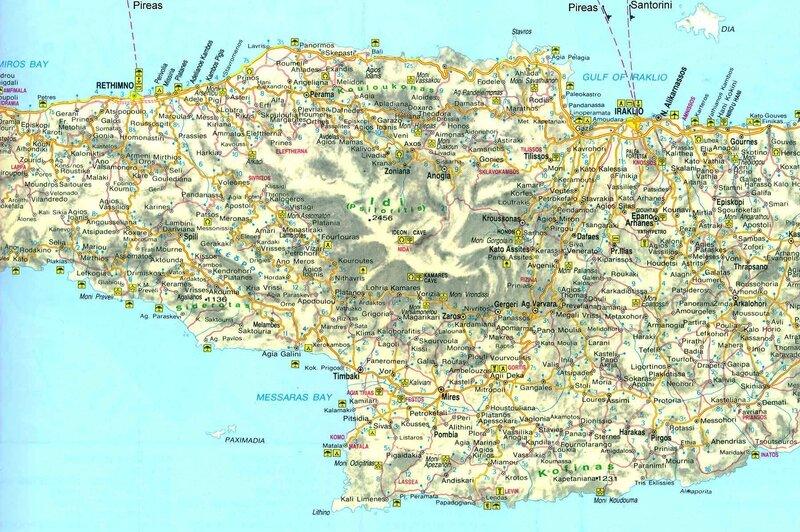 01-Carte Crète Centrale