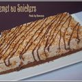 Entremets au snickers