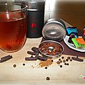 Rooibos choco hot n°40 de la marque le theier collection