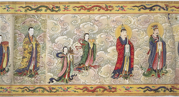 4. Ordination scroll of Empress Zhang (1)