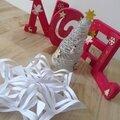 Diy - flocon de neige papier & sapin de noël en ficelle