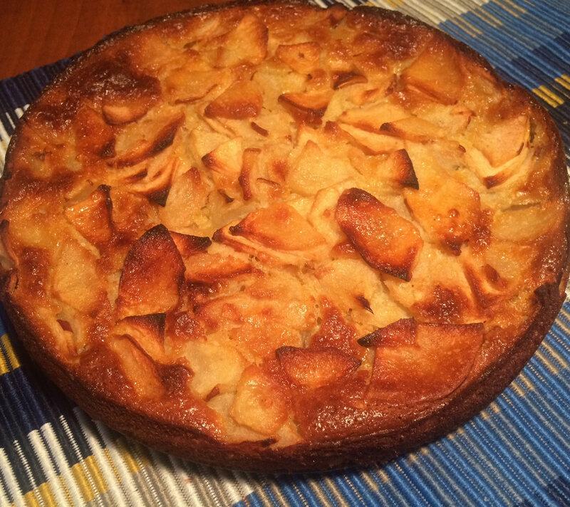 Gâteau-pommes