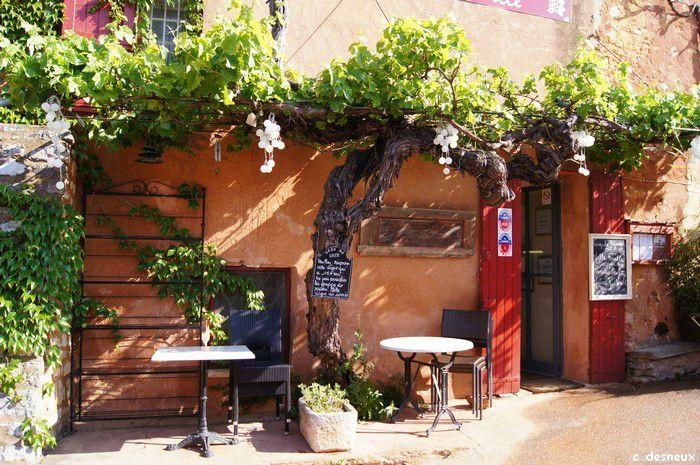 Terrasse provençale - Photo de Provence - Le petit mas