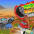 Jeu happy wheel racing movie cars