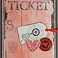 Pas-pas : carte st valentin