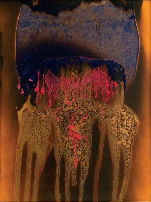 Yves Klein, Untitled (fre-color painting), 1962