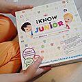 I know junior... dans la hotte du père noël [+ concours]