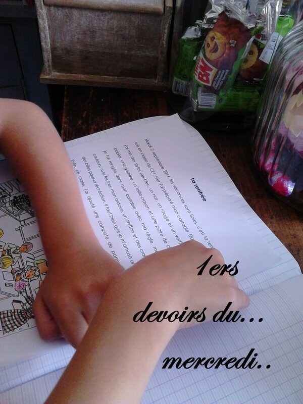 1ers devoirs