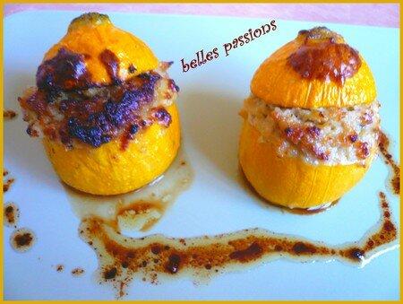 Courgettes jaunes à la ricotta et foie-gras - Belles Passions