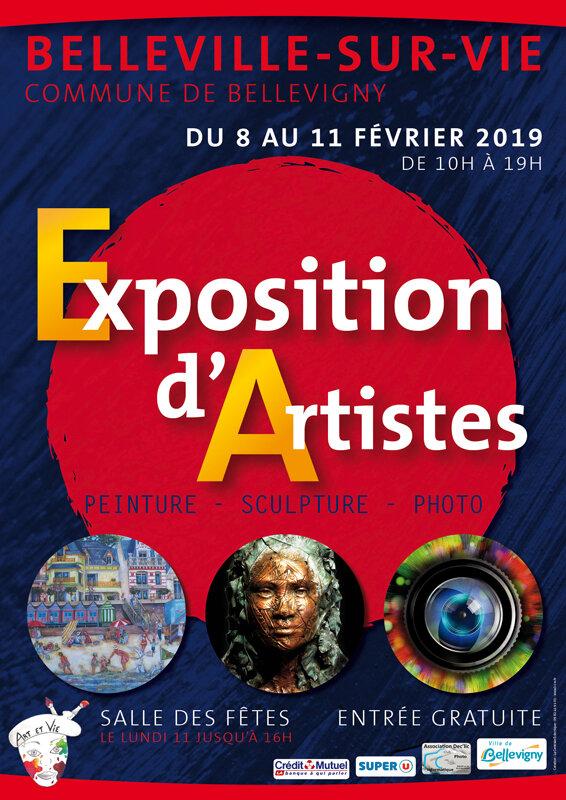 Art et Vie 85 Exposition 2019 affiche