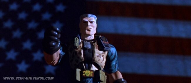 Small soldiers patriote