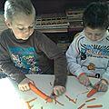 Le gâteau de carottes