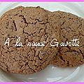Cookies rapides au chocolat (au thermomix)