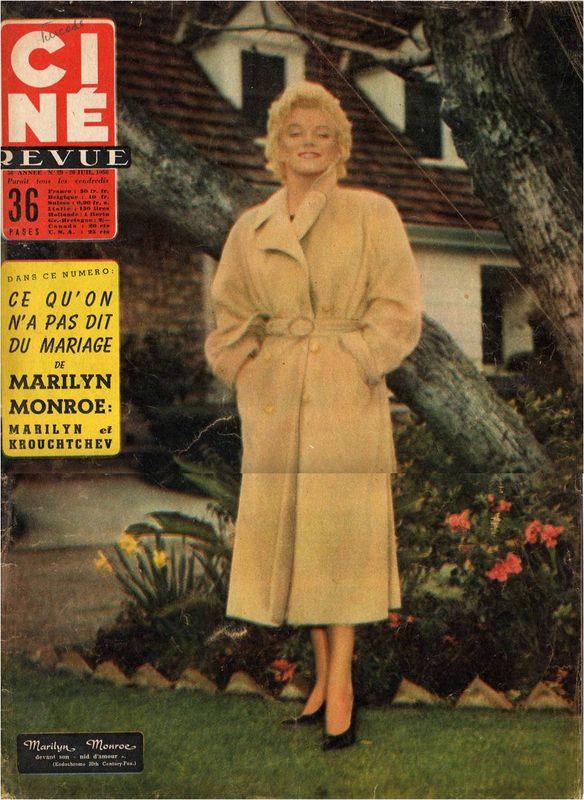 Ciné revue 1956
