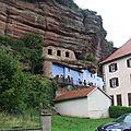 Graufthal et les maisons des rochers