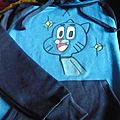 Sweat à capuche THE AMAZING WORLD OF GUMBALL