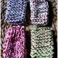 Pochetel cotons pastels
