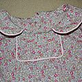 blouse oslo eloise détail col
