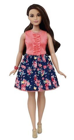 mattel barbie curvy 4