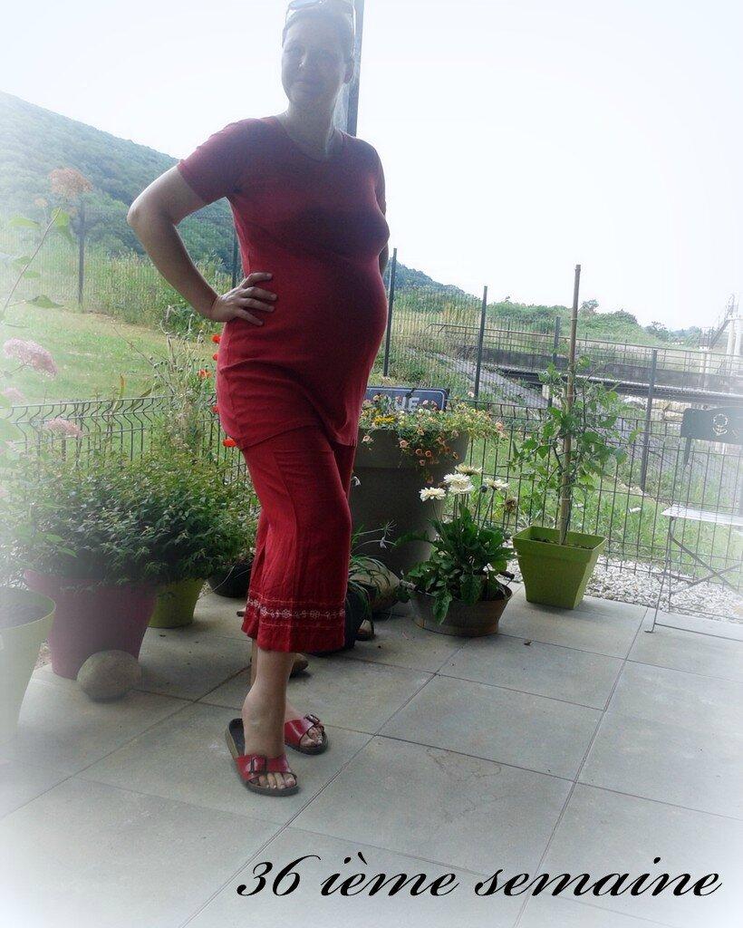 36 ième semaine... J - 30 avant accouchement (théorique) ....tellement de changements, tellement de pensées...