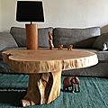 table rondin 1 mètre n°2 par Le Meuble du Photographe