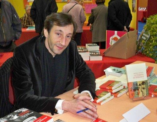 2015 Antoine LAURAIN au Salon du livre Montargis
