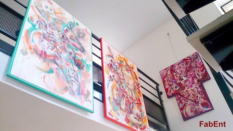 Haroué, exposition au restaurant Staub 2017